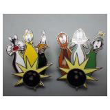 2 Looney Tunes WB Bowling Pins