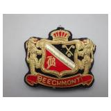Large Beechmont Coat of Arms Pin