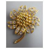 Vintage Napier Flower Brooch