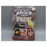 NIB!  Star-Wars 3-D Valentines Cards!