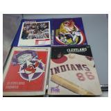 Cleveland Indians ephemera lot!