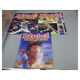 Lot of vintage Topps Baseball Sticker Yearbooks!