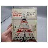 Original SOHIO Cleveland Indians photo Album!