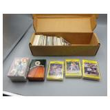 Lot of vintage sports trading cards w/unusual sets
