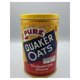 Vintage Quaker Oats Advertising Canister!