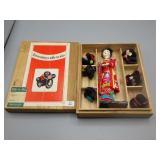 Rare Mid-Century Katsuraningyo Doll w/original box