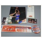 Vintage Cleveland Cavaliers ephemera lot!