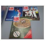Vintage Cleveland Indians programs/scorecards