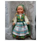 Vintage doll (circa 1940-50) w/Bavarian outfit!
