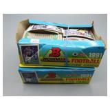 1991 Bowman Football card Wax Boxes!