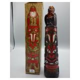 Rare Totem Pole Spicy After Shave! NOS!