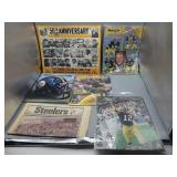Lot of Pittsburgh Steelers ephemera lot!