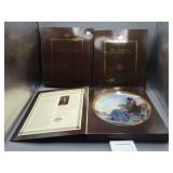 Lot of Norman Rockwell Lt. Ed. Knowles Plates