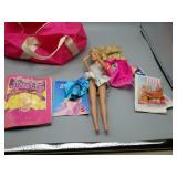 Vintage Barbie Doll lot w/Rare duffel bag!