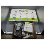 Nintendo Wii lot w/Wii Fit board!