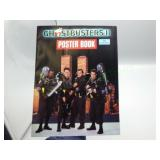 Rare 1989 Ghostbusters II Poster book!