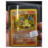 PRIZED!  1999 Pokémon CHARIZARD hologram card!