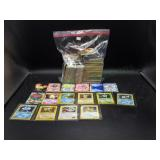 Large lot of Pokémon cards w/hologram cards!