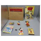 Large Walt Disney lot w/1965 card game & more!