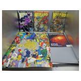 Comic book lot w/Superman!
