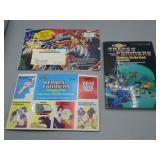 Original Transformer lot w/stamp book & movie