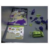 1984 Constructicon Lot w/Bonecrusher!