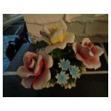 Nuova Capodimonte Porcelain Flower Bouquet #1