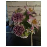 Nuova Capodimonte Porcelain Flower Bouquet #2