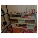 8 Shelf Wooden Bookcase