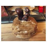 Squirrel Nut Ceramic Jar
