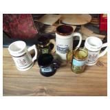 6 Collector Mugs