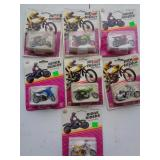 7 New in the package Ridge Rider Motorcycle Set #1