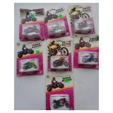 7 New in the package Ridge Rider Motorcycle Set #2