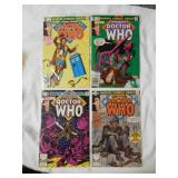 Doctor Who Marvel Premier issues #57,#58,#59 & #60