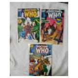 Dr. Who issues #1, #2, and #4