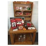 Coke collection and end table