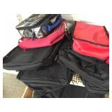 Case of insulated bags w/misc. bags