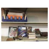 Gun books, smelter, & bullet molds