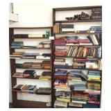 2-bookshelves and contents