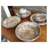 6 pieces - McCarty Merigold pottery
