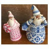 2-Jim Shore Santas