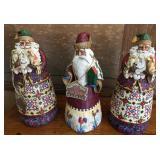 3-Jim Shore Santas
