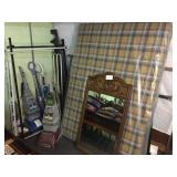 vacuums, bed frames, new mattress & mirror