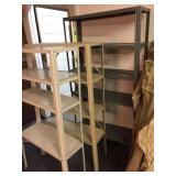 3-metal shelves