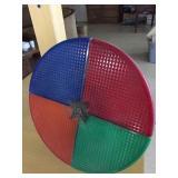 vintage color wheel