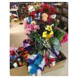 group od flowers & shelves