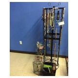 jewelry racks & contents