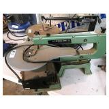 2 scrol saws, (Delta saw needs key)