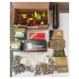 misc shotgun & rifle shells. all boxes full