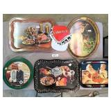 Coca Cola trays,